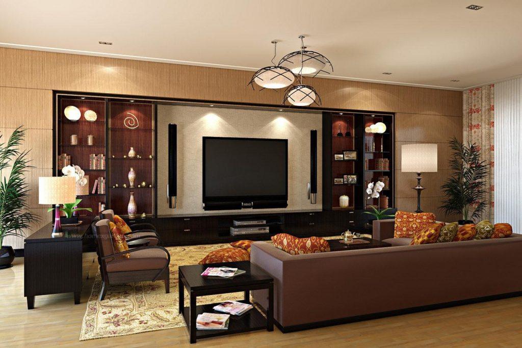 Богатый дизайн горок для гостиной