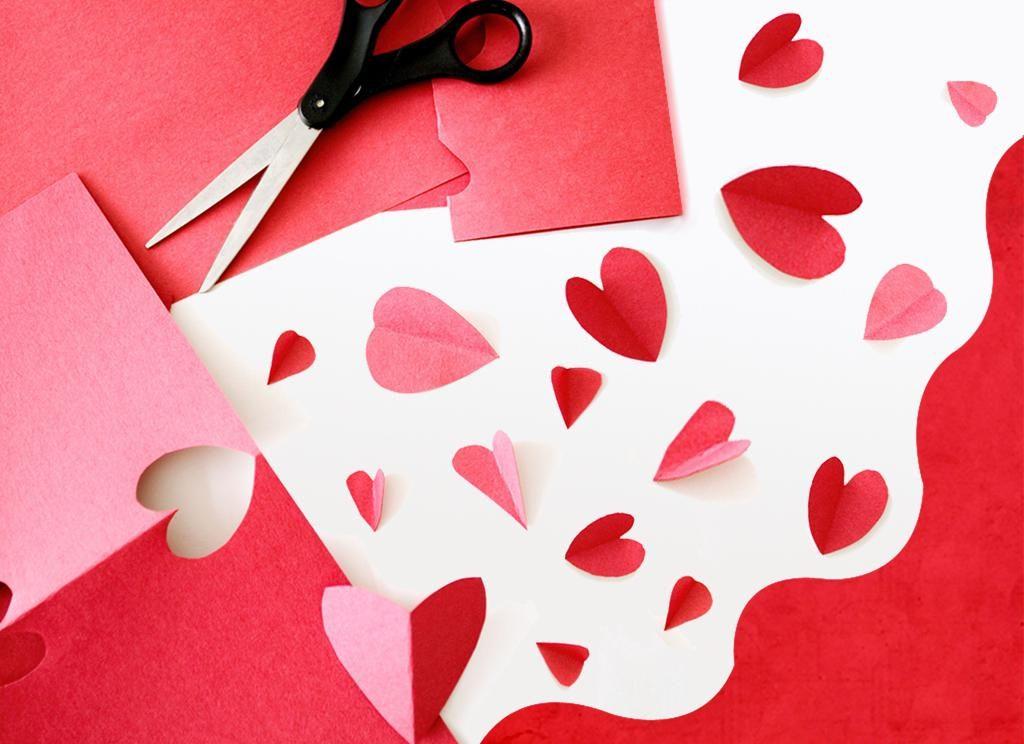 Вырезание сердечек