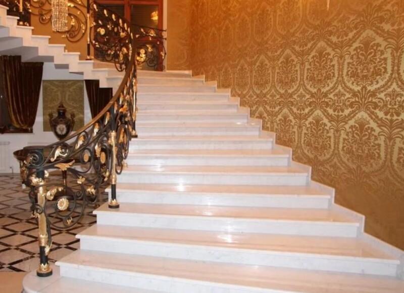 Особенности укладки мраморной лестницы