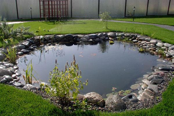 Ландшафтный дизайн — водоемы